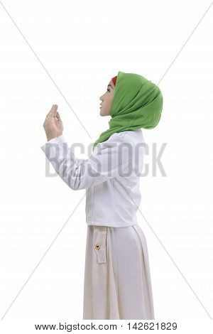 Young Woman Asian Muslim