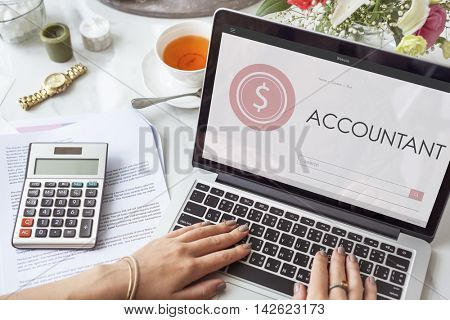 Account Assets Audit Bank Bookkeeping Finance Concept