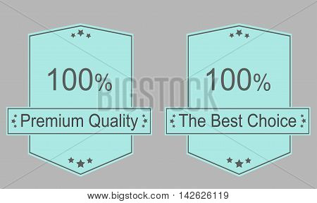 Best choice label and sign - Vector illustration
