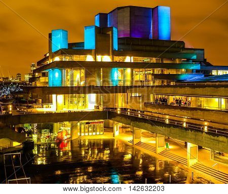 National Theatre London Hdr