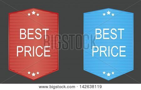 Best price banners seais icons and badges