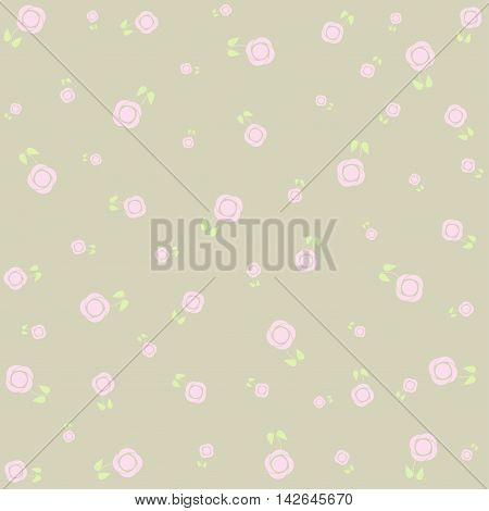 Floral abstract background - pattern for continuous replicate.