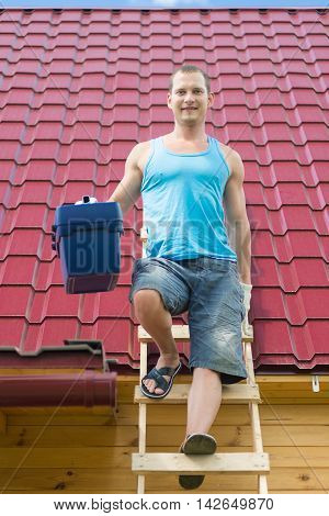 The best master for work on the roof and the house