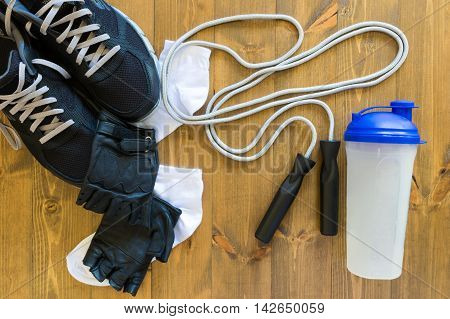 all that is necessary for the exercise in the gym