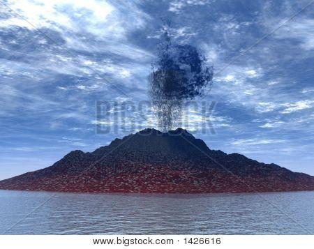 Eruption Of A Volcano