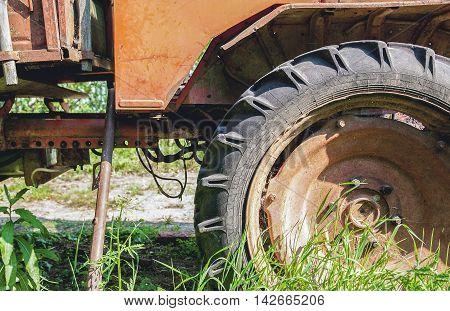 Big Old Tractor Wheel