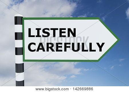 Listen Carefully Concept