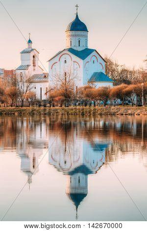 St. Alexander Nevsky Church in Gomel, Homiel Belarus.