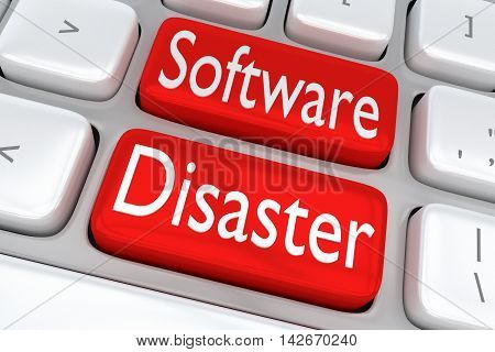 Software Disaster Concept