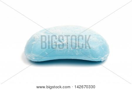 soap sanitary, shower on a white background