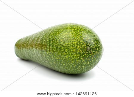 avocado fruit vegetables on a white background