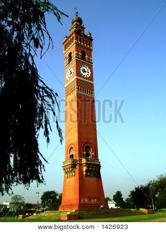 Ghantaghar - The Clocktower Of Lucknow