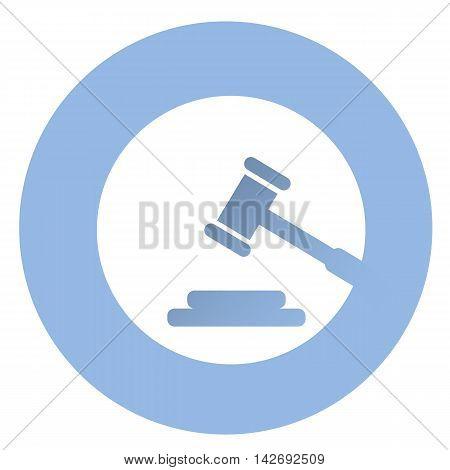 Stylish court icon . EPS 10 vector icon