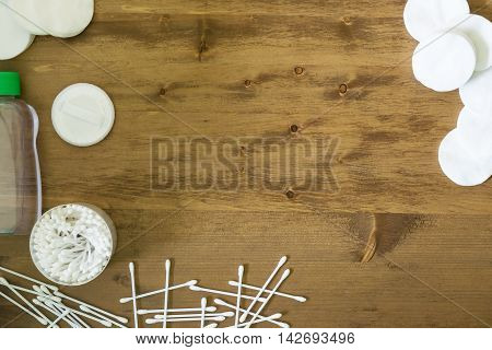 board background cotton swabs, background for your desktop