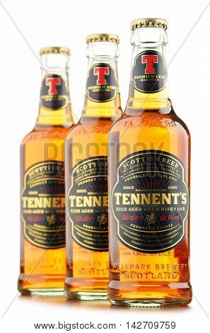 Three Bottles Oftennents Whisky Oak Beer