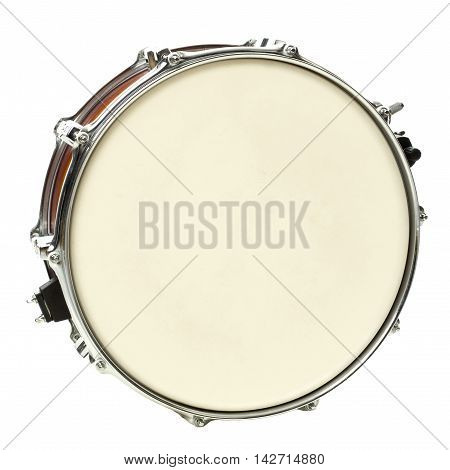 one big Drum isolated on white background