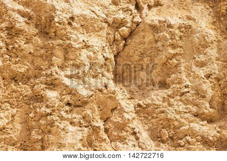 Ancient stone sand wall old background texture