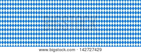 Oktoberfest blue background. Vector illustration. Blue background
