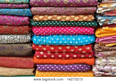 Colorful Indian Fabric