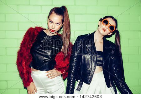 Two Young Naughty Girls Having Fun