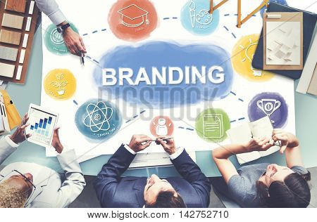 Branding Creative Brand Business Graphic Concept
