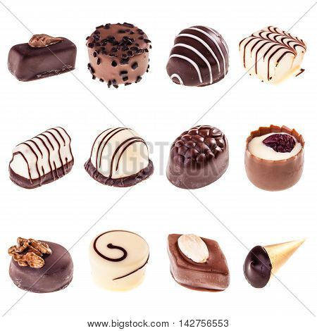Collection Of Pralines