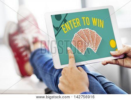Gambling Luck Jackpot Risk Wager Concept