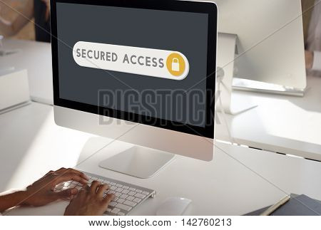 Secured Access Accessible Verification Security Concept