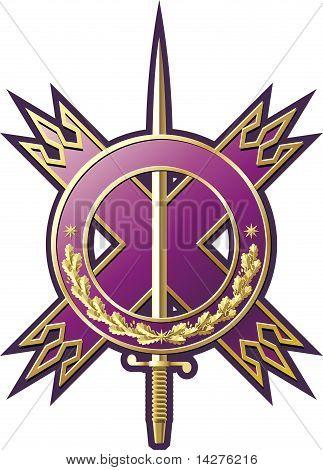 Military style emblem