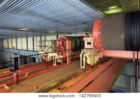 Hydroelectric Turbine Hall