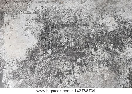 Polished Old Grey Concrete Floor, Background