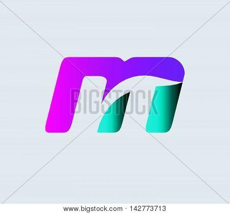 Letter M logo. Letter m logo icon design template elements