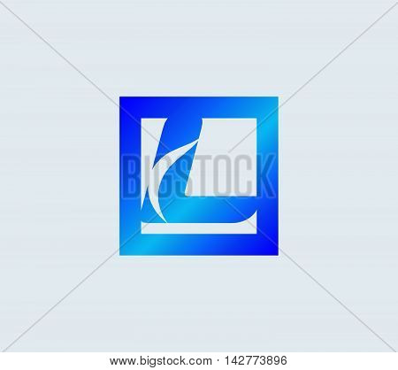 Letter L. Letter L logo vector alphabet shape. ABC concept type as logo
