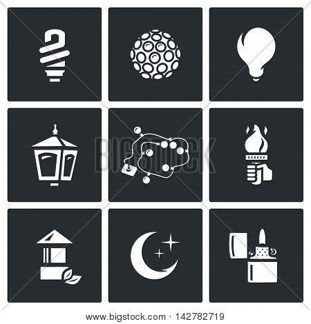 Light Bulb, Equipment, Lantern, Christmas lighting, Hand with a torch, Crescent Cigar-lighter