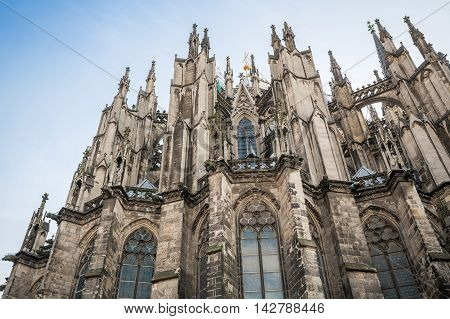 Gothic Cathedral In Koln, Germany