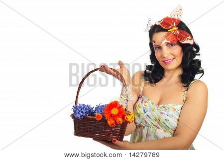 Attractive Spring Woman