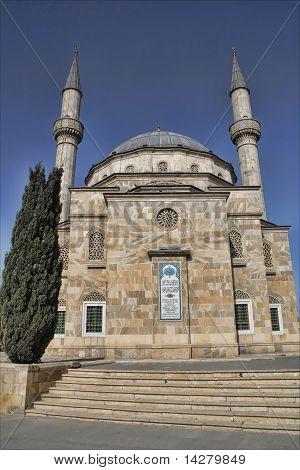 Shahidlar Mosque in Baku, Azerbaijan