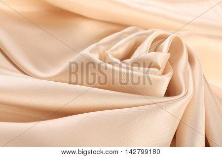 Pale Cream Silk