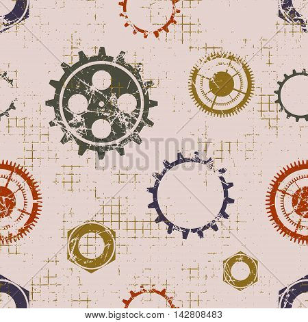 Vector Graphic Seamless Pattern