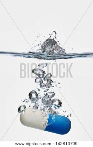 Capsule in Water