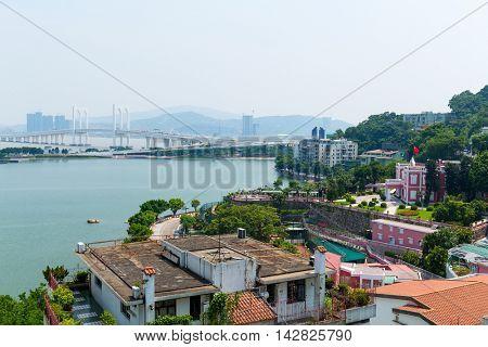 Macao urban downtown
