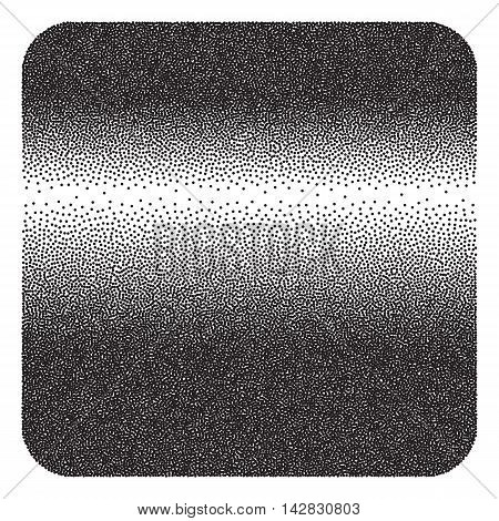 Halftone Background. Dotwork Abstract gradient. Vector illustration