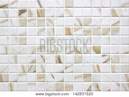 Brown marble stone mosaic texture  High res