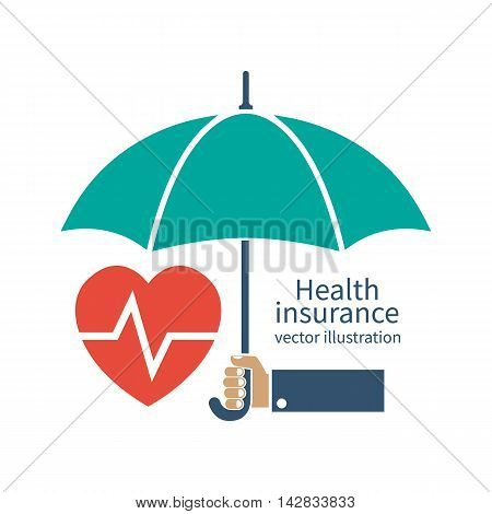 Health Insurance Silhouette Icon