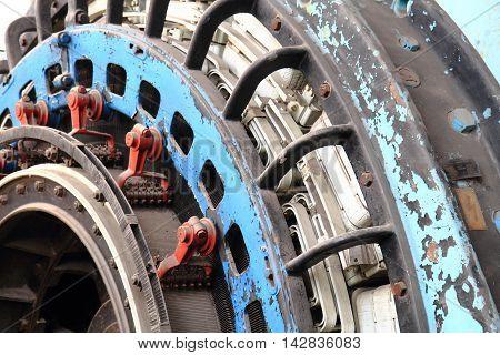 Industry Machine Texture