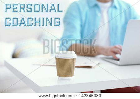 Personal coaching concept.