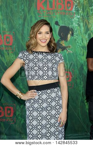 LOS ANGELES - AUG 14:  Allison Holker at the