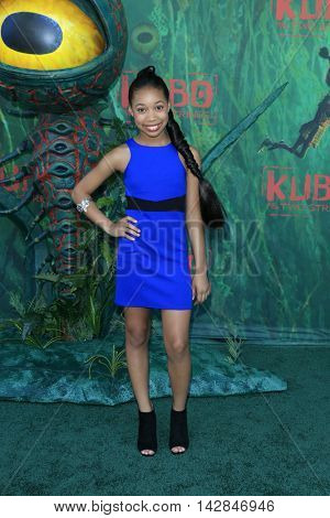 LOS ANGELES - AUG 14:  Kyla Drew Simmons at the