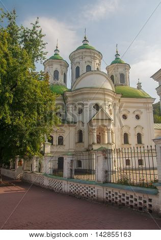 View of Kiev Podolsk Intercession Church. Ukraine