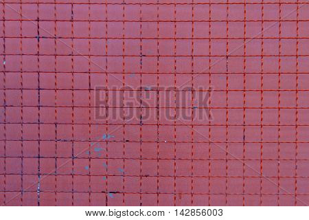 Steel grating background, steel nets for protection .